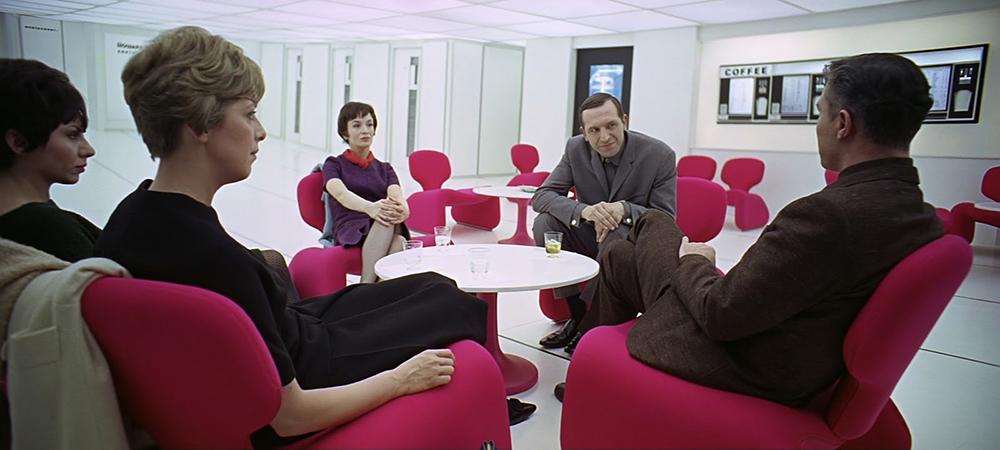 Scena tratta da 2001: Odissea nello Spazio