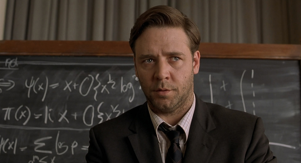 Scena tratta da A Beautiful Mind