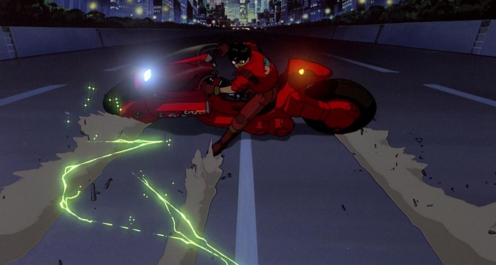 Scena tratta da Akira