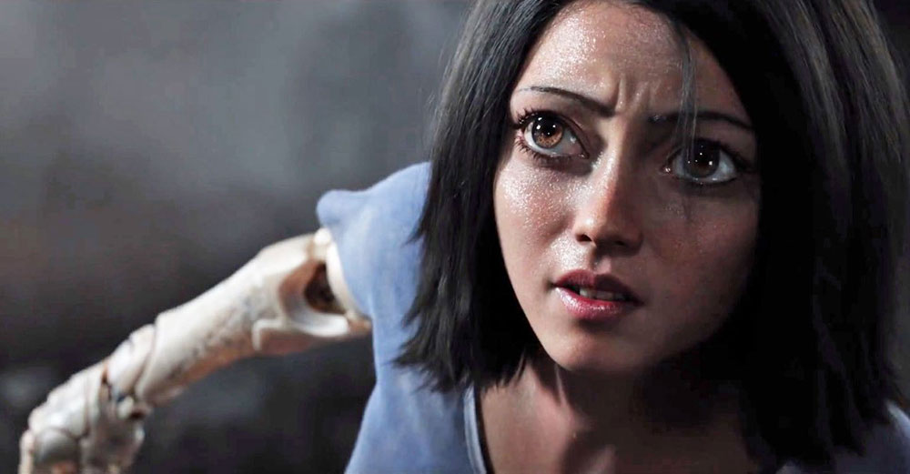 Scena tratta da Alita: Battle Angel