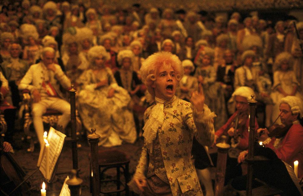Scena tratta da Amadeus