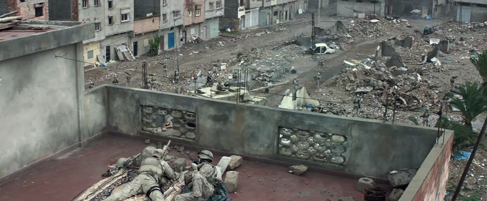 Scena tratta da American Sniper
