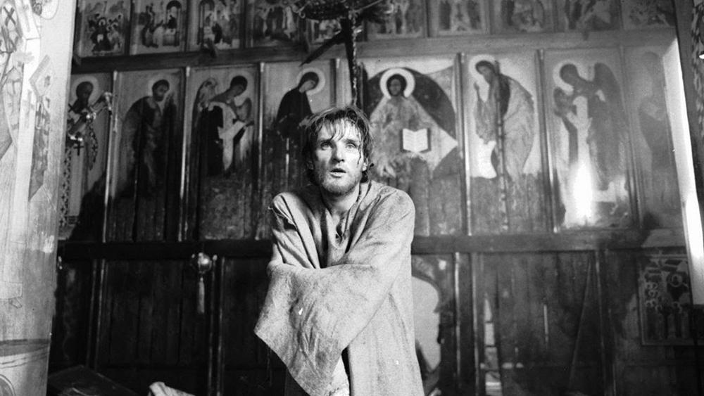 Scena tratta da Andrei Rublev