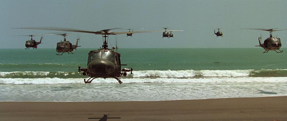 Scena tratta da Apocalypse Now