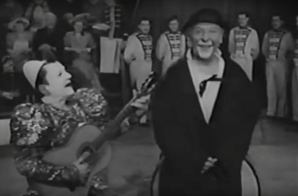 Scena tratta da Au revoir M. Grock