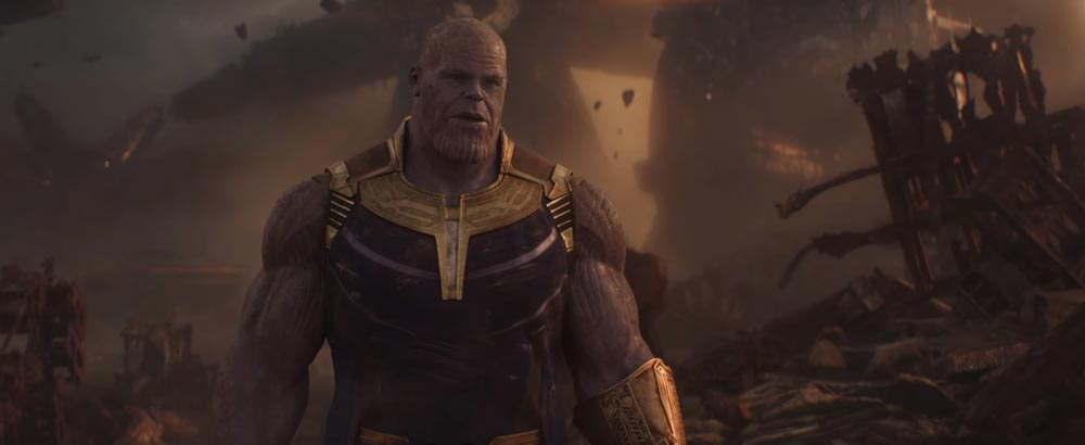 Scena tratta da Avengers: Infinity War