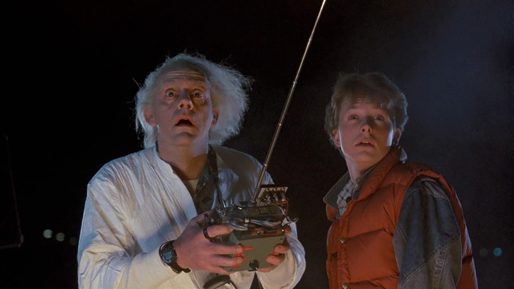 Scena tratta da Back to the Future