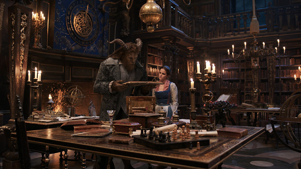 Scena tratta da Beauty and the Beast