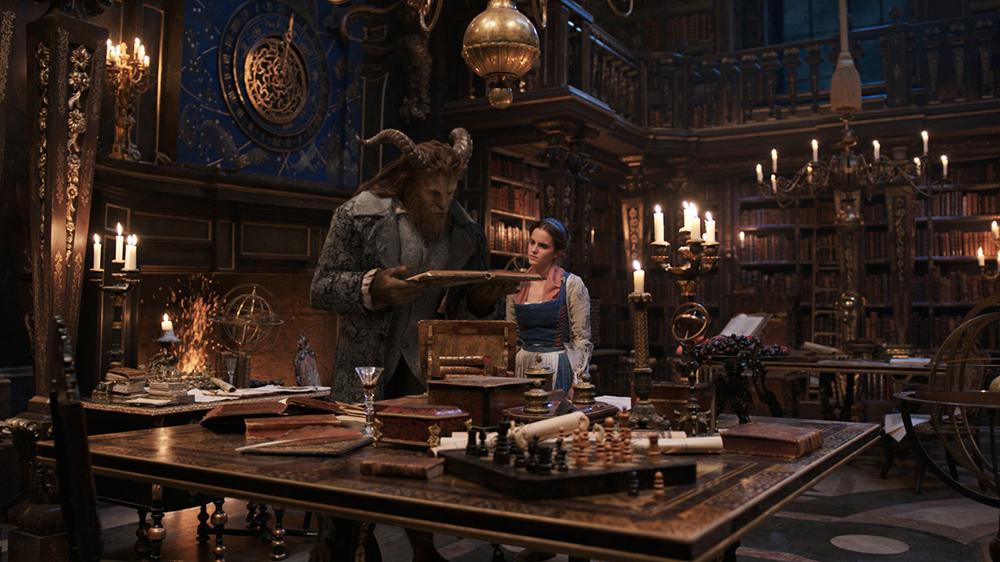Scena tratta da La Bella e la Bestia