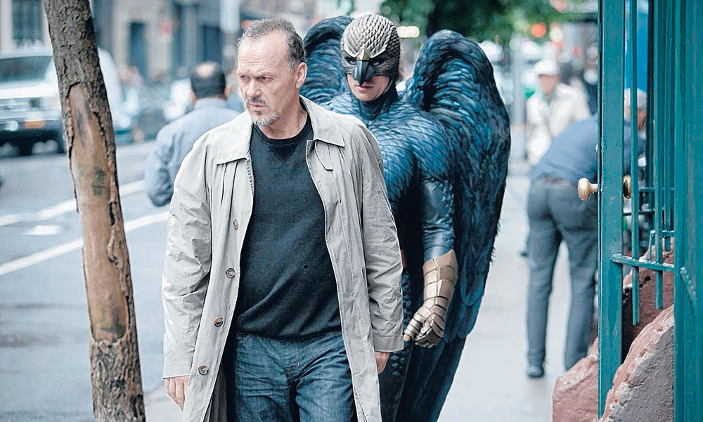 Scena tratta da Birdman