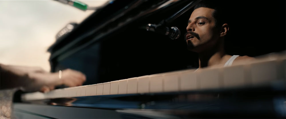 Scena tratta da Bohemian Rhapsody