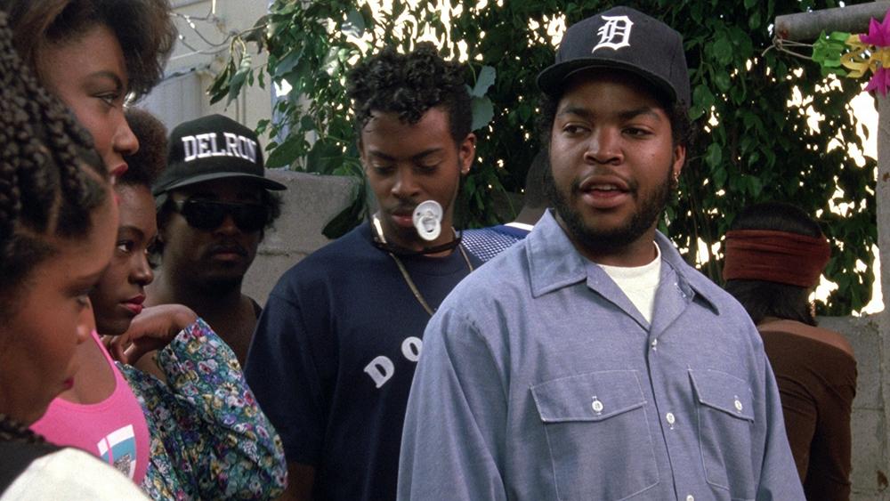 Scena tratta da Boyz n the Hood - Strade Violente