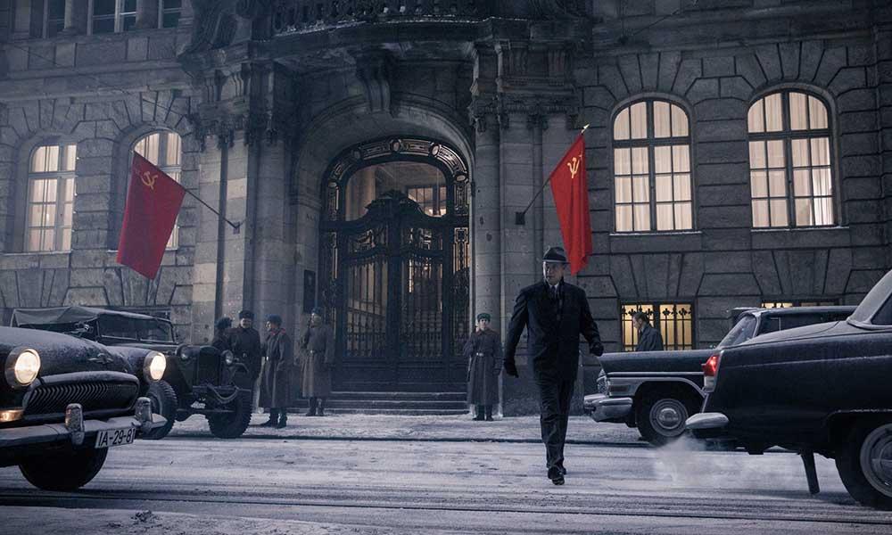 Scena tratta da Il Ponte delle Spie