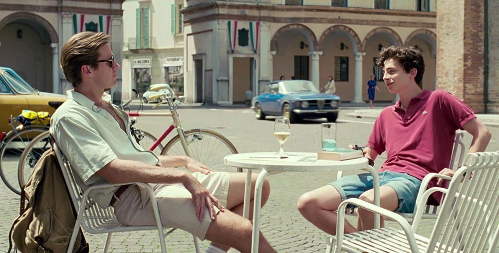 Scena tratta da Call Me by Your Name