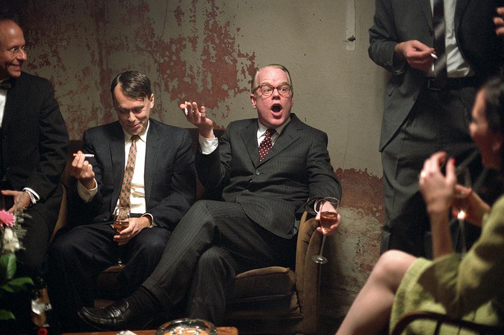 Scena tratta da Truman Capote - A Sangue Freddo