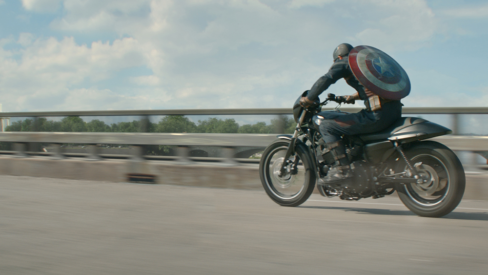 Scena tratta da Captain America: The Winter Soldier