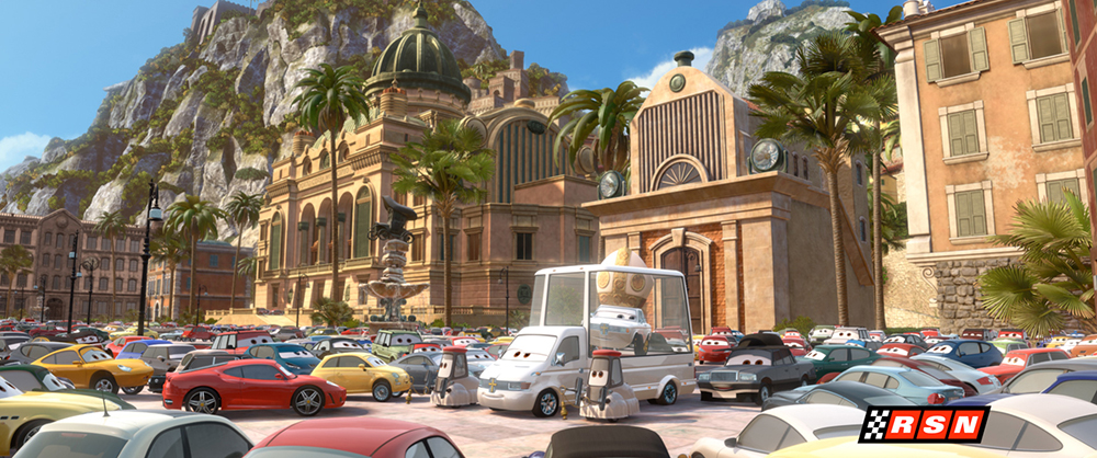 Scena tratta da Cars 2