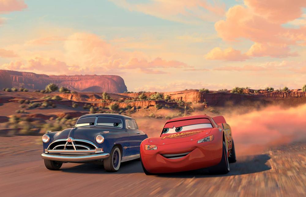 Scena tratta da Cars - Motori Ruggenti