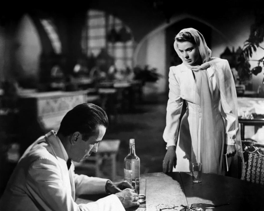 Scena tratta da Casablanca