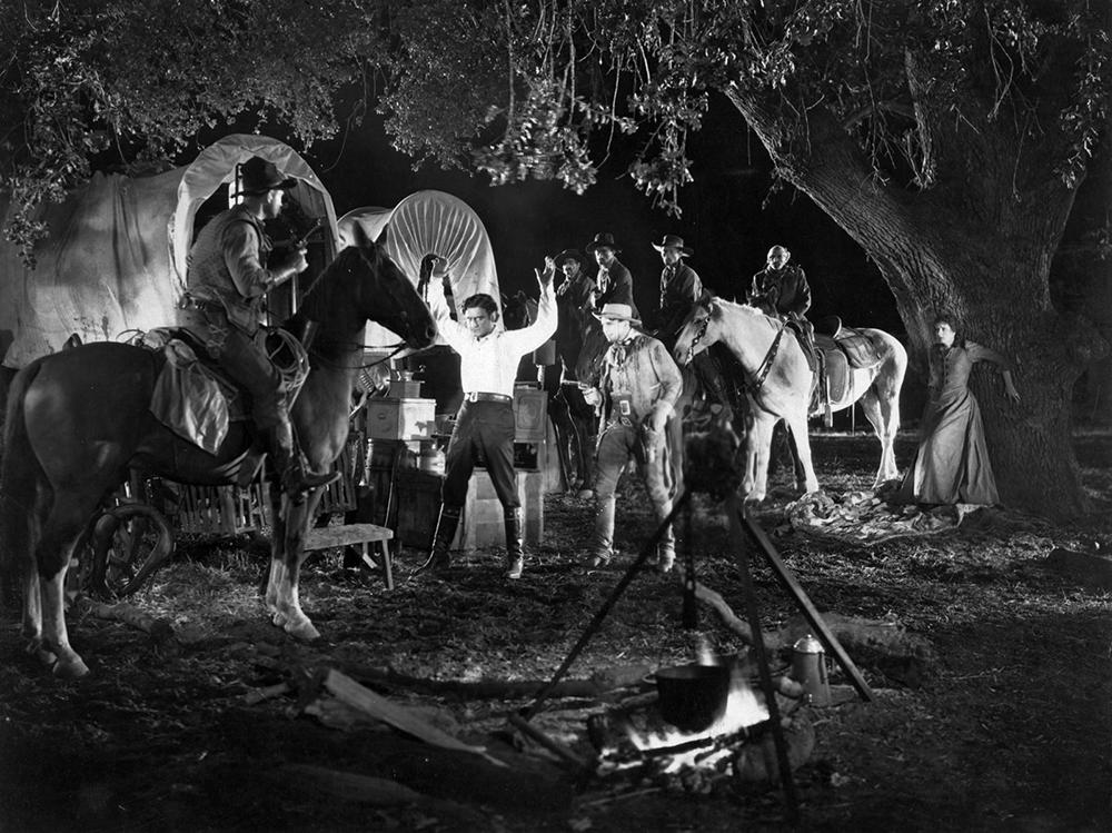 Scena tratta da I Pionieri del West