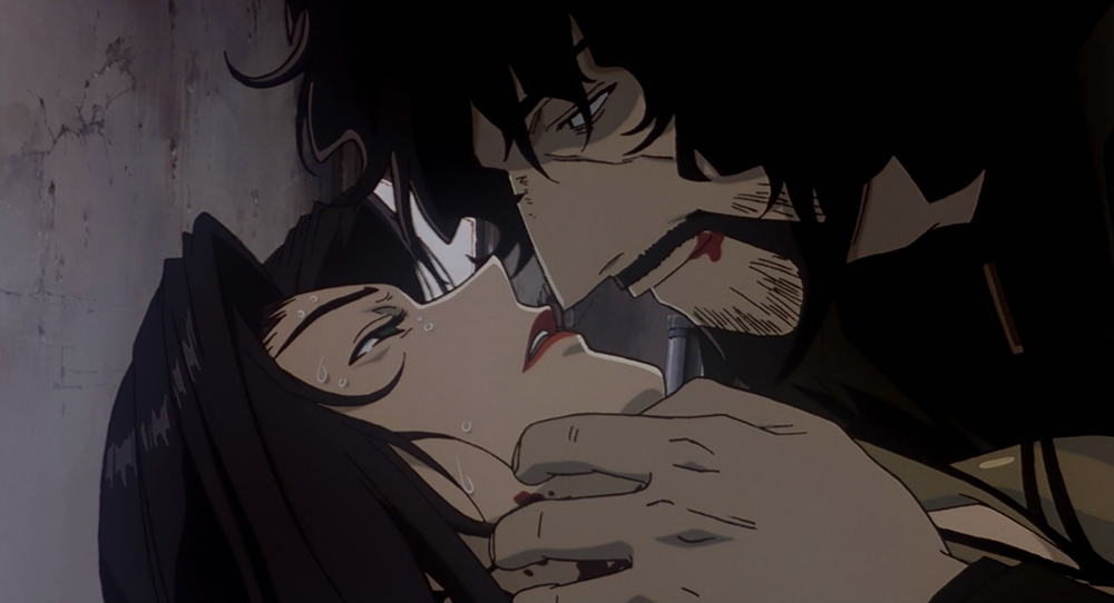 Scena tratta da Cowboy Bebop: Knockin' on Heaven's Door