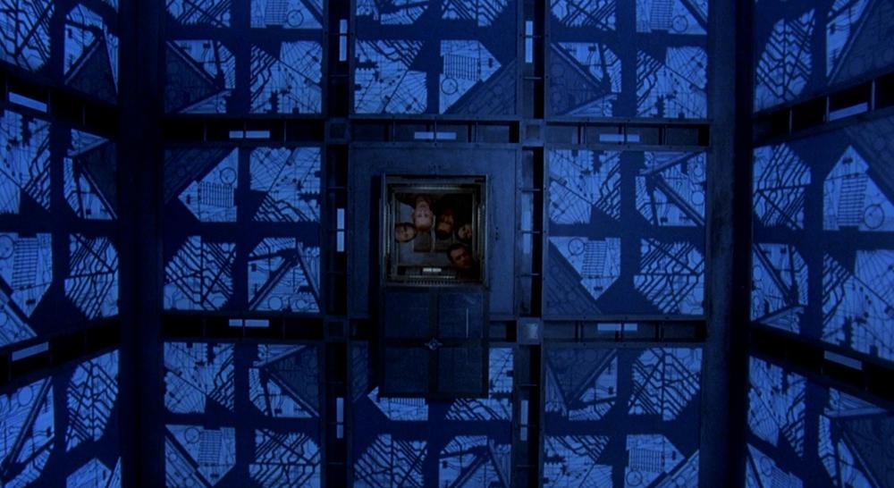 Scena tratta da Il Cubo