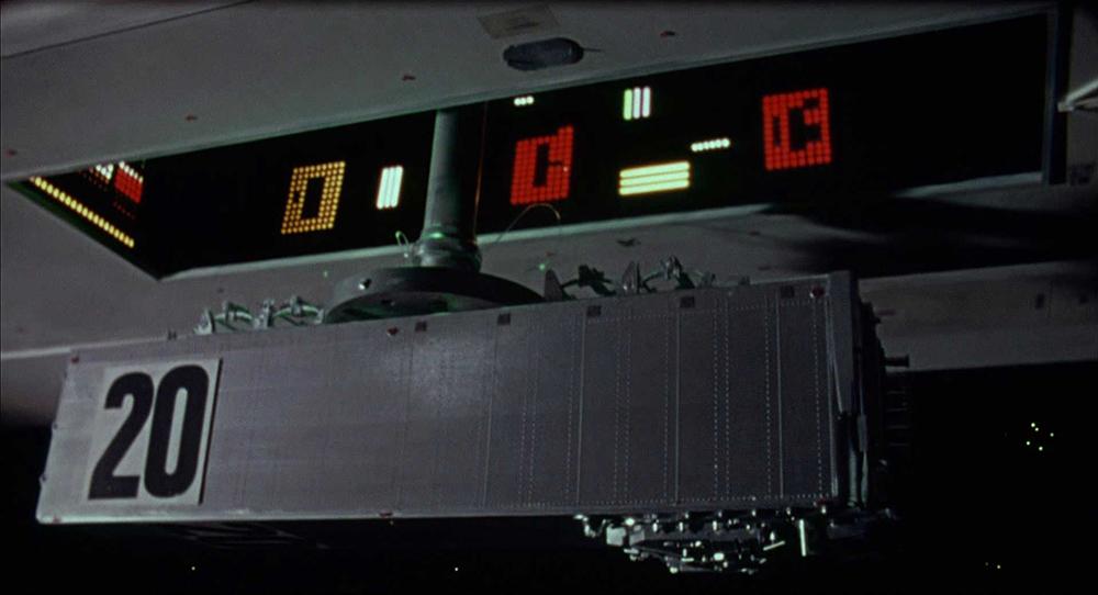 Scena tratta da Dark Star