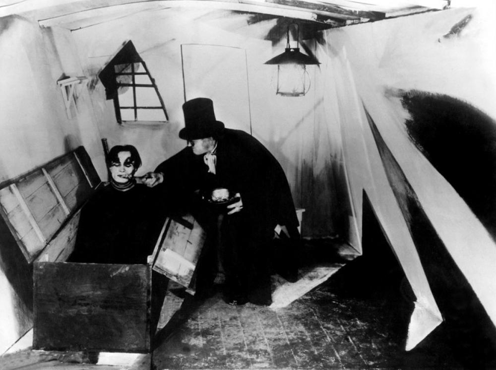 Scena tratta da Das Cabinet des Dr. Caligari