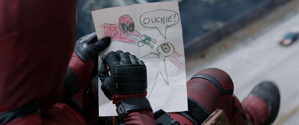Scena tratta da Deadpool