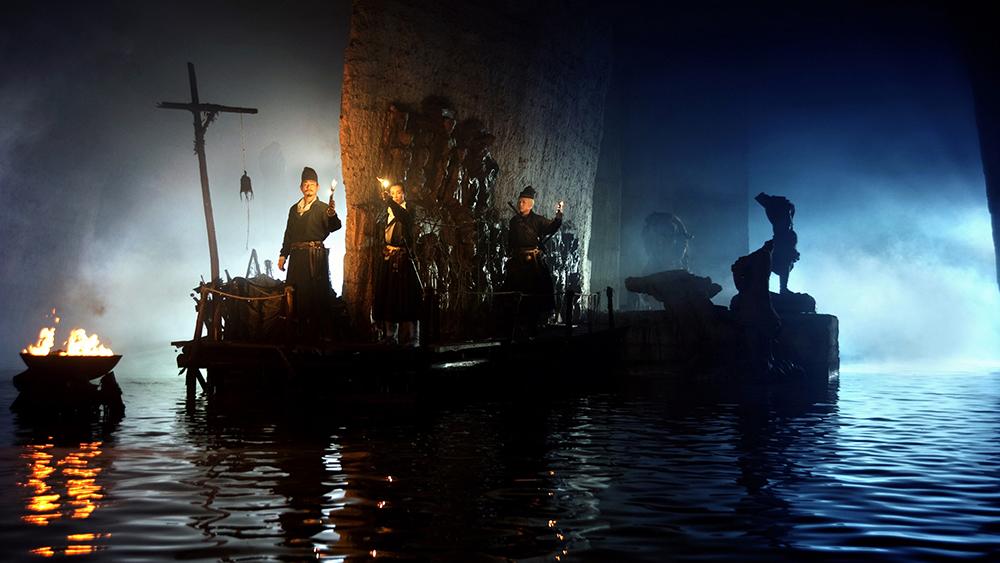 Scena tratta da Detective Dee e il Mistero della Fiamma Fantasma