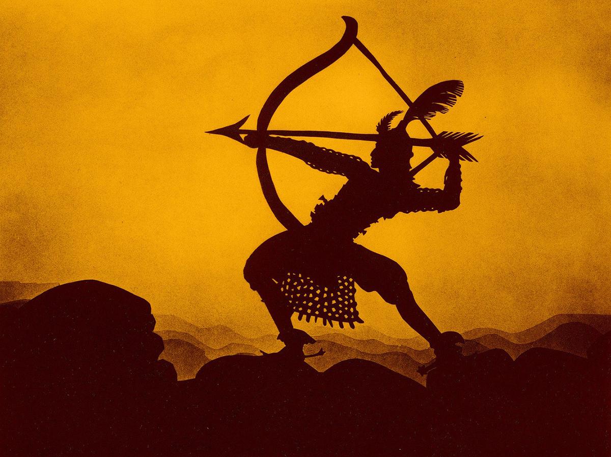 Scena tratta da Die Abenteuer des Prinzen Achmed
