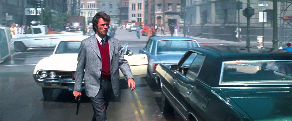Scena tratta da Dirty Harry