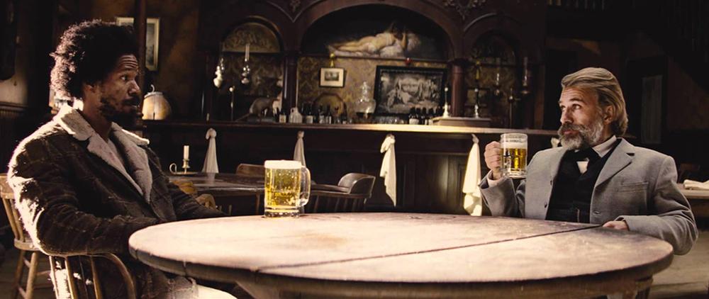 Scena tratta da Django Unchained