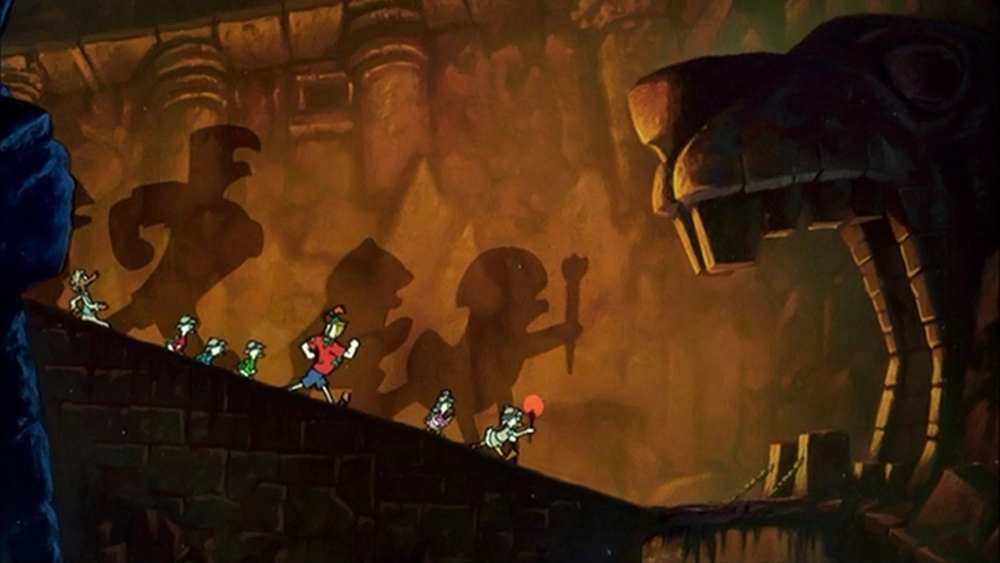 Scena tratta da DuckTales the Movie: Treasure of the Lost Lamp