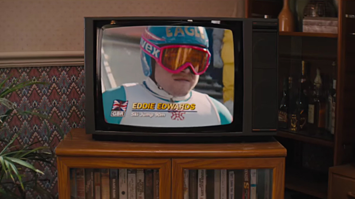 Scena tratta da Eddie the Eagle