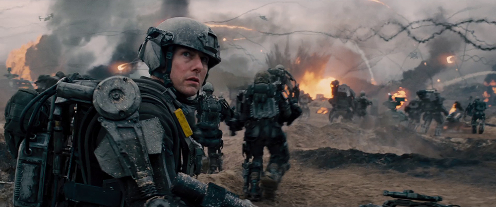 Scena tratta da Edge of Tomorrow - Senza Domani