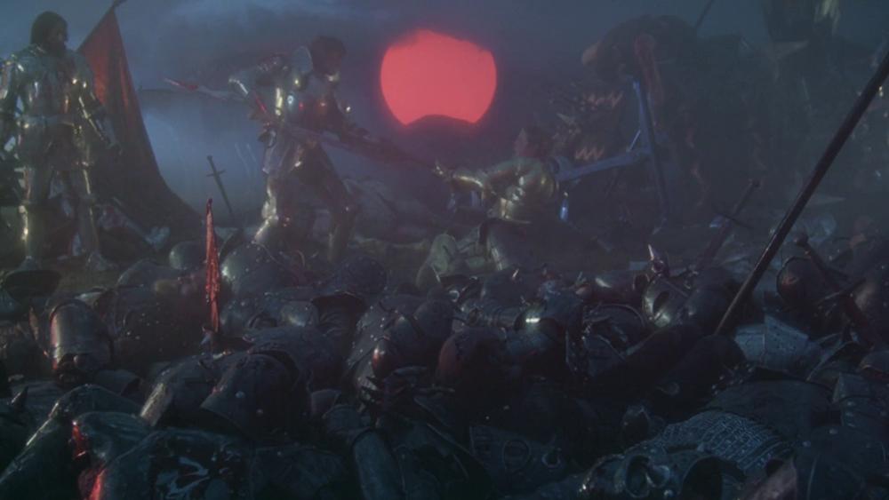 Scena tratta da Excalibur