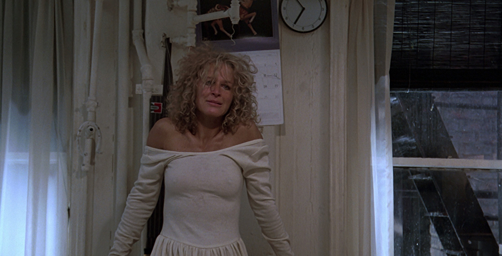 Scena tratta da Fatal Attraction