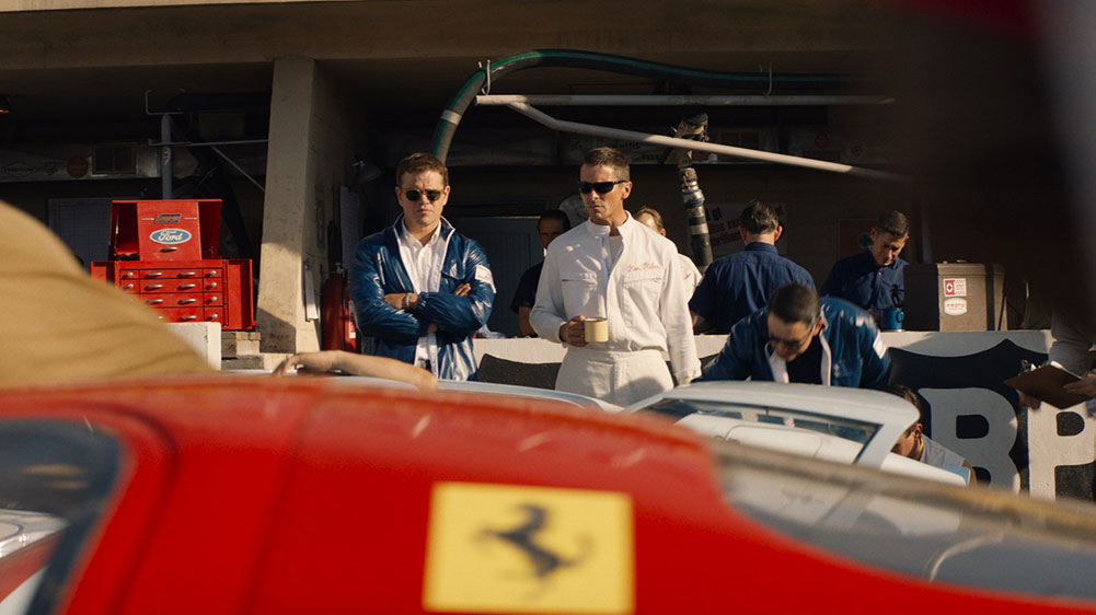 Scena tratta da Le Mans 66 - La Grande Sfida