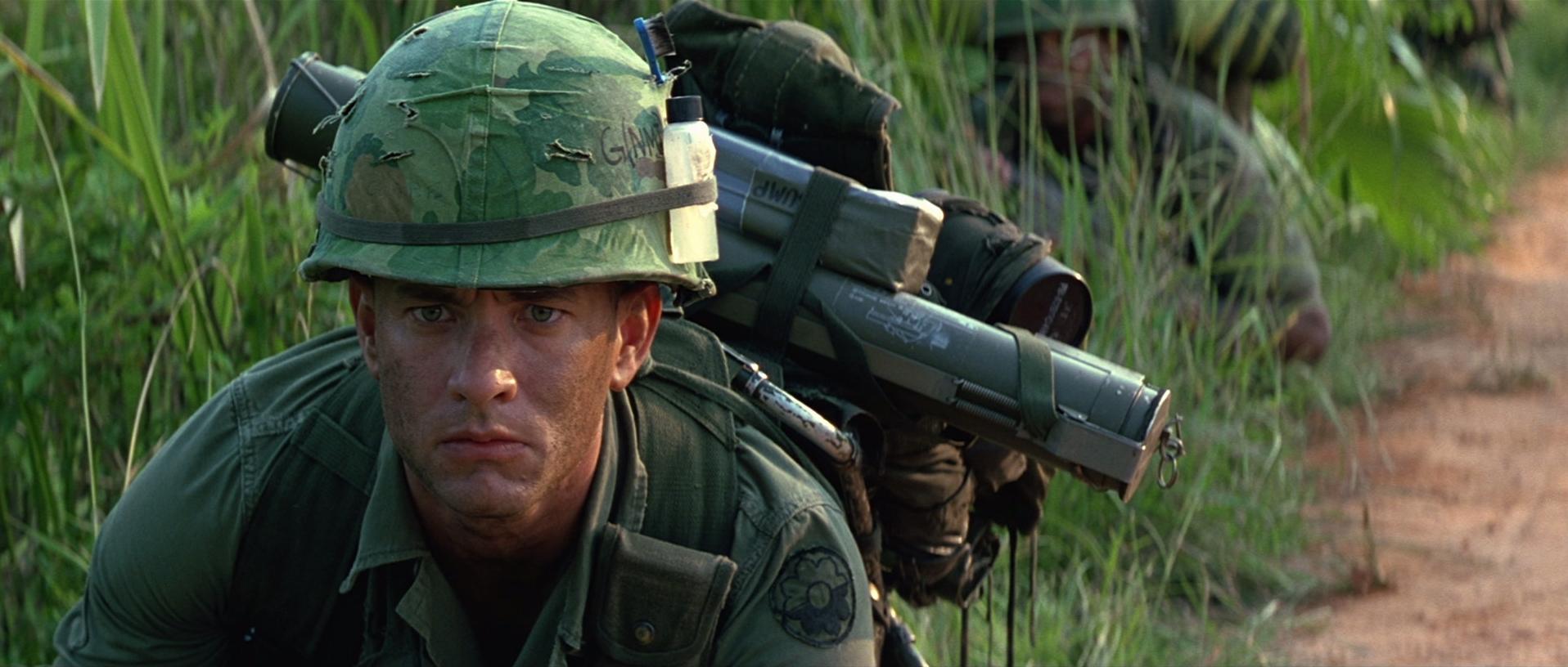 Scena tratta da Forrest Gump