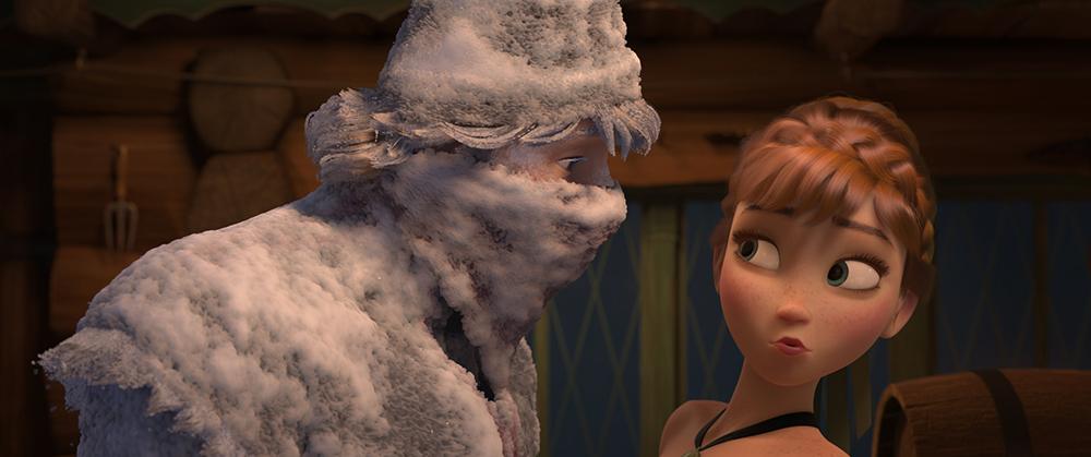 Scena tratta da Frozen