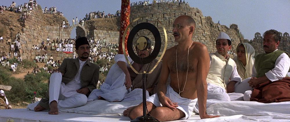 Scena tratta da Gandhi