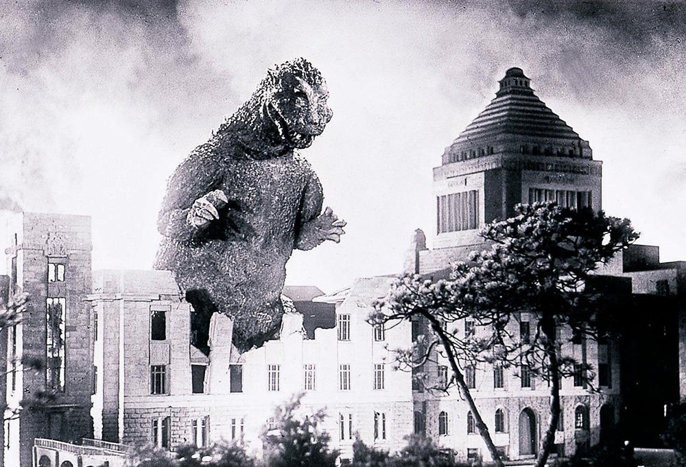 Scena tratta da Godzilla