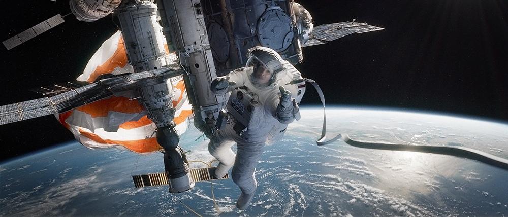 Scena tratta da Gravity