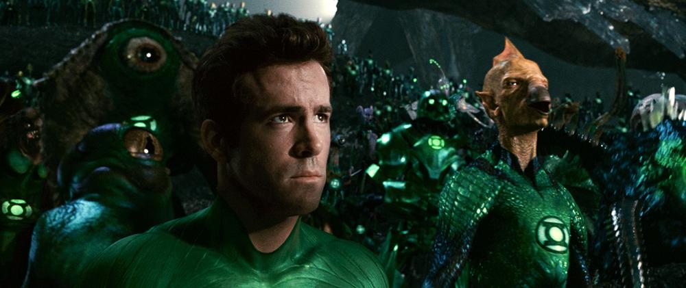 Scena tratta da Lanterna Verde