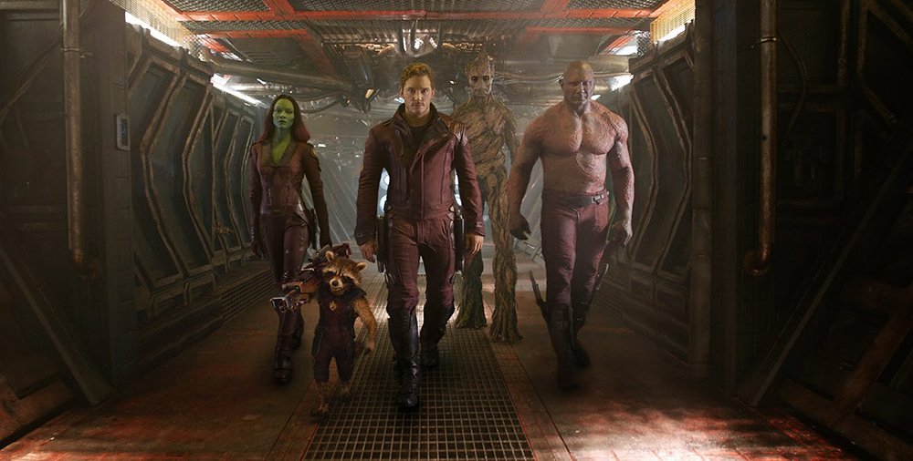 Scena tratta da Guardians of the Galaxy