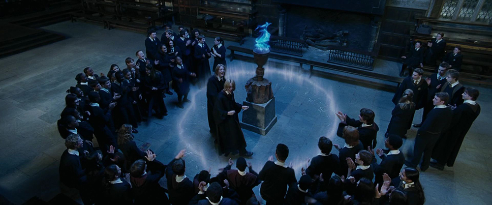 Scena tratta da Harry Potter e il Calice di Fuoco