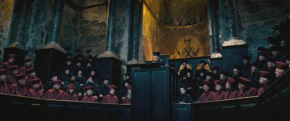 Scena tratta da Harry Potter and the Order of the Phoenix