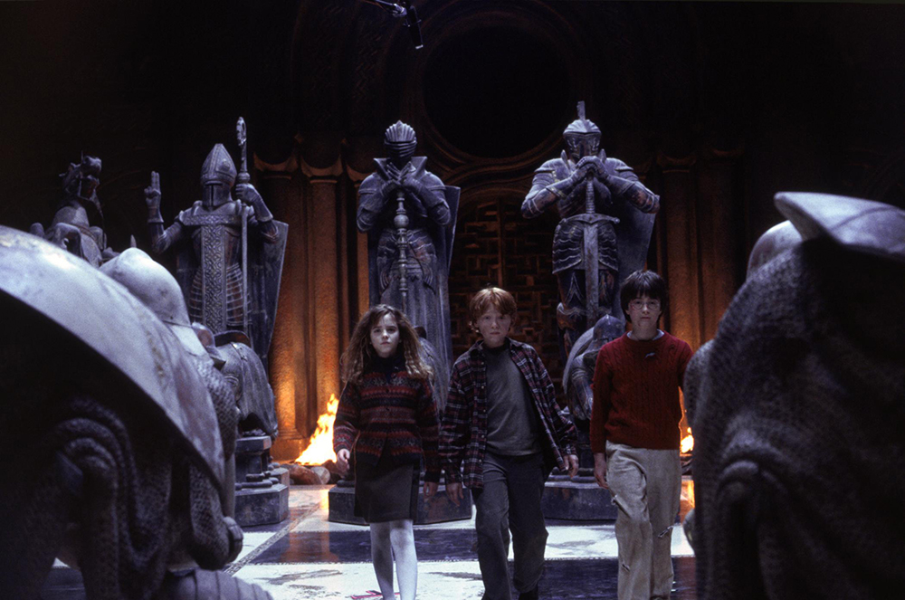 Scena tratta da Harry Potter and the Philosopher's Stone