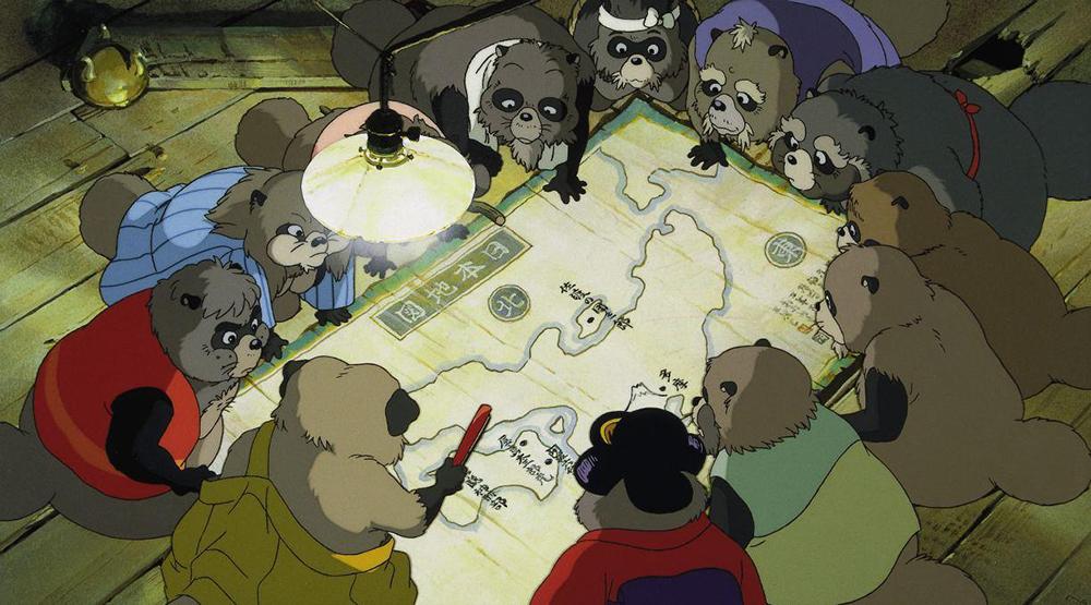Scena tratta da Heisei Tanuki Gassen Ponpoko